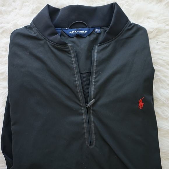 Polo by Ralph Lauren Other - Polo Golf Ralph Lauren Sport Windbreaker sz XL blk